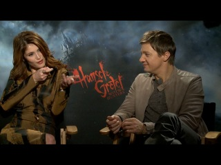 Gemma Arterton   Jeremy Renner (Hansel   Gretel  Witch Hunters) Interview