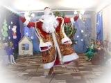 Дед мороз зажигает)))